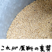 原料の麦芽