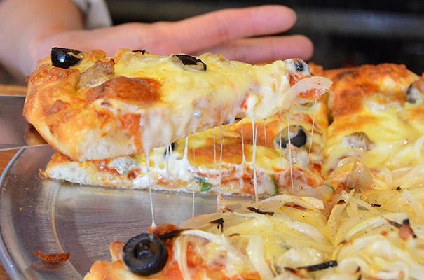 ジャンボリーのアメリカンピザ