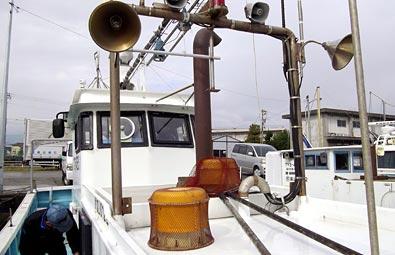 明神さんの船「貴新丸(たかしんまる)」