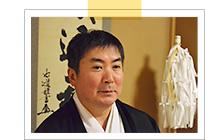 八心大市比古神社 宮司 桜井都嘉佐さん