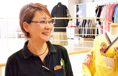 ウェディングデザイナーをしておられる丸山喜美子さん