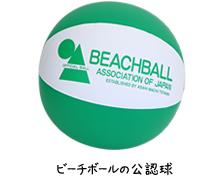 ビーチボールの公認球