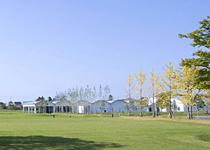 YKK工場敷地内に作られた、YKKセンターパーク