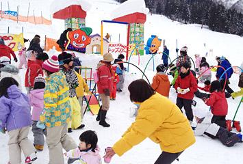宇奈月スキー場 キッズパーク