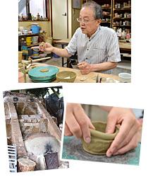 阿古屋野窯で陶芸体験
