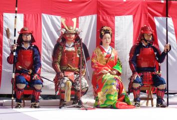 富山県魚津市 戦国のろし祭り