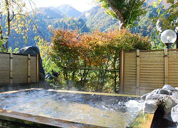 宇奈月温泉 グリーンホテル喜泉の露天風呂