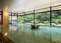 小川温泉の大浴場