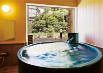 ホテル桃源の人気の貸切露天風呂