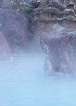 源泉100パーセント、かけ流しの温泉